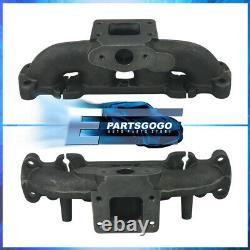 For Mazda Miata MX5 1.8L T3 T3/T4 Performance Iron Exhaust Header Turbo Manifold