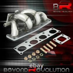 For Mazda Protege MX6 Probe JDM T2 T25 T28 Turbo Charger Exhaust Header Manifold