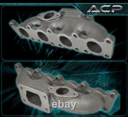 For VW Golf GTI Jetta 1.8 20V T3 Flange Turbo Charger Exhaust Manifold Cast Iron