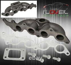 Ford Focus 2.3L / Mazda 3 2.0L T3 Flange Racing Exhaust Turbo Manifold Cast Iron