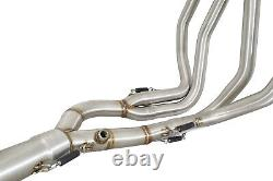 GSX1300 R Hayabusa 08-20 4-1 Exhaust Headers Front Down Pipes Race Performance