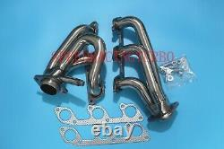 Header Exhaust For Ford Mustang 05-10 4.0 V6 Shorty Stainless Performance Pair