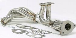 Maximizer High Performance Header For 04-08 Acura TSX K24 4-2-1, Stainless Steel