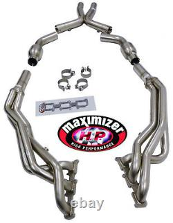 Maximizer Performance Long Tube Header For 2011-2017 Ford Mustang 3.7L V6 TiVCT