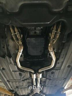 Mercedes Benz W211 E55 AMG V8 03-06 Performance Exhaust Headers + 200 Cell Cats