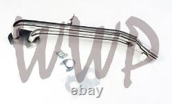 Performance Exhaust Header System For 79-85 MAZDA RX-7 RX7 SA/FB 1.1/1.2L 12A