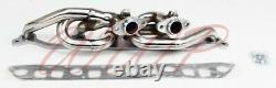 Performance Stainless Steel Exhaust Header Manifold For 00-06 Jeep Wrangler 4.0L