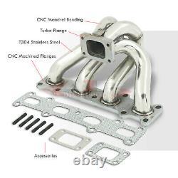 Performance Stainless Steel Exhaust Turbo Manifold For 1994-2005 Mazda Miata MX5