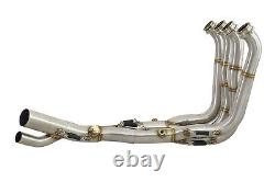 S1000R 2017-2020 Performance De Cat Exhaust Downpipes Collector Race Headers