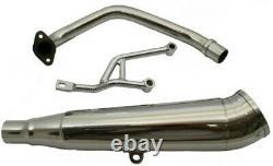 SSP-G Performance Stainless Exhaust Muffler Honda Ruckus 50 (NPS50) 25mm Header