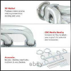 Stainless Exhaust Manifold Header Kit For Ford Big Block BBF FE 330 360 390-428