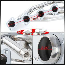 Stainless Long Tube Racing Exhaust Header For 1996-2004 Ford Mustang GT 4.6L V8