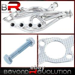 Stainless Long Tube Racing Manifold Header/Exhaust For 96-04 Ford Mustang Gt