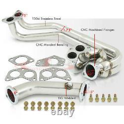 Stainless Manifold Header Exhaust For 2002-2007 Subaru Impreza WRX STI EJ GD GG