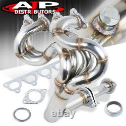 Stainless Steel 4-1 Exhaust Header Manifold For 1988-2000 Honda Civic D15 D16