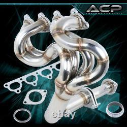 Stainless Steel 4-1 Header Exhaust Manifold For 88-00 Civic EE EG EJ EK D-Series