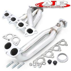 Stainless Steel 4-2-1 Exhaust Header Manifold For 1996-2000 Honda Civic D15 D16