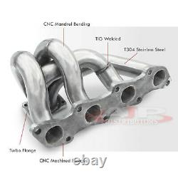 T25/T28/Gt28 Stainless Steel Turbo Manifold For Nissan 240SX S13 S14 KA24DE