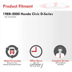 T3/T4 JDM Turbo Header Exhaust Manifold For 1988-2000 Honda Civic SOHC D15/D16