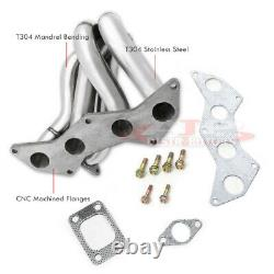 T3/T4 Stainless Steel Turbo Exhaust Header Manifold Steel For 2004-2010 Scion Tc