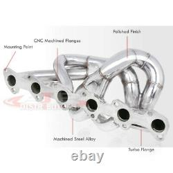 T3/T4 Stainless Steel Turbo Manifold I6 For 1988-1991 BMW E30 325i 325is 325ix