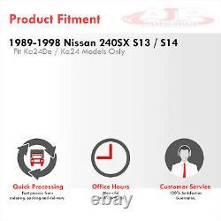 Top Mount T3/T4 Turbo Manifold Header For 1989-1998 240SX S13 S14 KA24 KA24DE